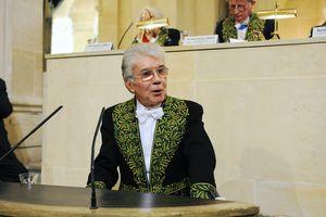 Bernard Bourgeois, délégué de l'Académie des sciences morales et politiques © Brigitte Eymann \/ Institut de France