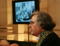 Jean-Noël Robert de l'Académie des inscriptions et belles-lettres, sous la Coupole de l'Institut de France, le 21 novembre 2008