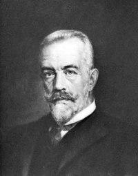 Theobald von Bethmann Hollweg, detail from a portrait by Brant, 1909