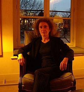 Mireille Delmas-Marty de l'Académie des sciences morales et politiques, 2 décembre 2008, Institut de France