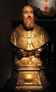 Buste de François de Sales sculpté à Marseille
