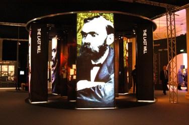 Exposition Alfred Nobel au Palais de la découverte