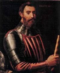 L'explorateur et navigateur Jean de Verrazane (fin XVème - 1528)