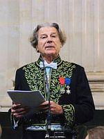 Dominique Fernandez de l'Académie française, le 13 décembre 2007, sous la Coupole de l'Institut de France