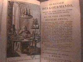 Huitième édition de l'Almanach des Gourmands