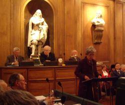 Chantal Delsol, Académie des sciences morales et politiques, 8 décembre 2008