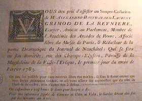 Invitation aux soupers légendaires de Grimod de la Reynière (et sa pointe de cynisme)