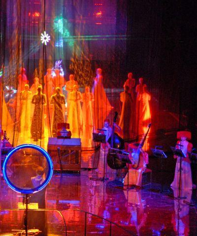 Les Vêpres de Monteverdi mises en scène par Oleg Kulik au Théâtre du Châtelet