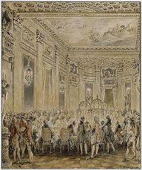 Fête donné à Louveciennes, le 2 septembre 1771