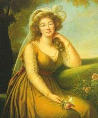 Portrait de Madame du Barry par Claude-Nicolas Ledoux