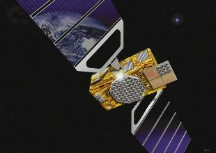 Satellite Galileo, vue de l'artiste