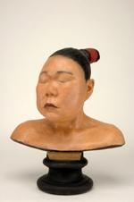 Buste en plâtre de femme inuit, 1856