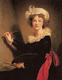 Louise Elisabeth Vigée Le Brun, Autoportrait
