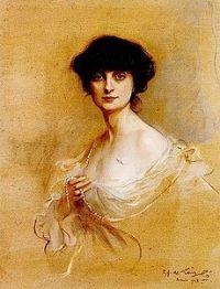 La comtesse Anna-Élisabeth de Noailles est une poétesse et romancière française, d'origine roumaine, 1876-1933