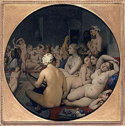 Le bain turc, de JD Ingres (Louvre)