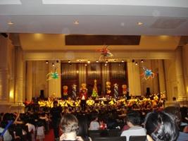 L'orchestre philarmonique de Singapour