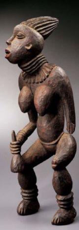 Statue njuindem, Bangwa, Cameroun