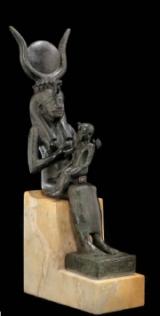 Statuette ex-voto – Isis allaitant Horus