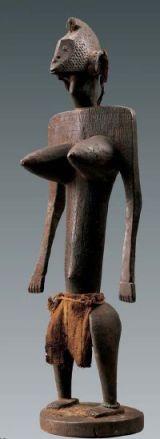 Statue jonyeleni, Bamana, Mali