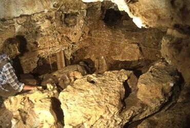 Grotte du Vallonet près de Menton, Alpes-maritimes
