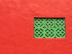 Le rouge de Malacca (héritage de la Hollande)