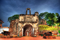 L'ancien fort portugais A'Famosa
