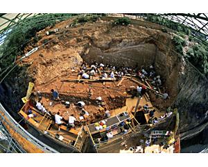 Chantier de fouilles à Atapuerca, Gran Dolina