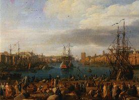 Intérieur du port de Marseille (1754)