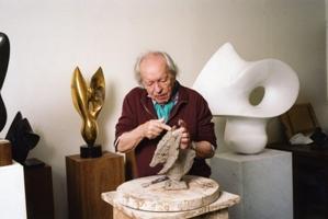 Antoine Poncet dans son atelier à Paris © Louis Monier