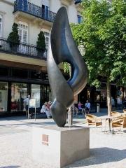 Fugue-Fougue, sculpture située à Baden-Baden en Allemagne
