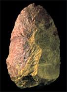Biface en quartzite rouge, Excalibur, Sima de los Huesos