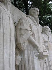 Calvin, monument de Genève