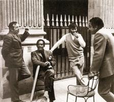 Poncet, Cardenas, Otero, Guzman. Salon de la Jeune Sculpture. Palais-Royal, Paris, 1968.
