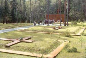 Le charnier de Katyn aujourd'hui