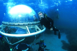 Aquabulle, refuge sous-marin conçu par Jacques Rougerie (1979-1981)