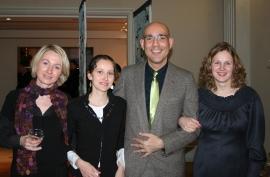 """Les lauréats du programme """"Tapisserie contemporaine et art textile en Europe"""" initié par l'Académie des beaux-arts 2008-2009"""