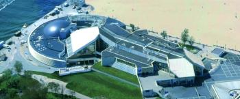 Nausicaa, le centre de la mer de Boulogne-sur-Mer, architecte Jacques Rougerie (1991-2000)