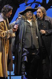Placido Domingo, dans  Cyrano de Bergerac d'Alfano, Théâtre du châtelet, mai 2009