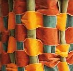 La Belle au bois dormant (pendant qu'elle dormait), détails, montage-ruban, installation de David-Elliot Salamanovich, 2008