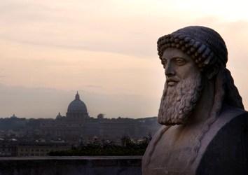Vue sur Rome à partir de la Villa Médicis