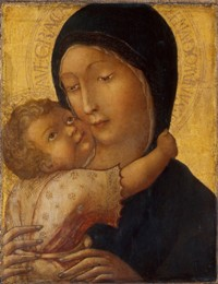 Liberale da VERONA  - Vierge à l'Enfant, vers 1470. , Musée Lindenau, Altenbourg