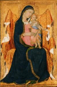 Lippo MEMMI Vierge à l'Enfant, Musée Lindenau, Altenbourg