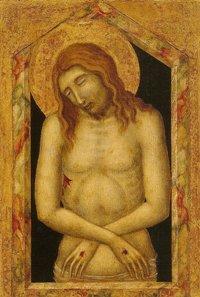 Pietro LORENZETTI - Christ de Pitié