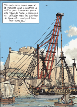 Un chantier à Brest