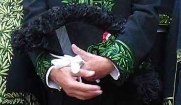 Tricorne de l'habit vert d'académicien de Jacques Rougerie, 3 juin 2009, Institut de France