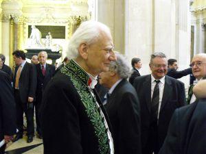 L'architecte Roger Taillibert membre de l'Insitut, Coupole de l'Institut de France, 3 juin 2009