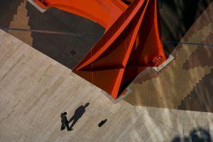 Stabile de Calder à la Défense, Hauts de Seine, France, (48°53' N-2°19'E)