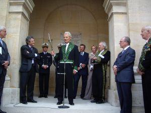 Cérémonie de remise de l'épée d'académicien de Jacques Rougerie, 3 juin 2009, Institut de France