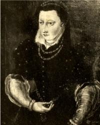 Portrait présumé d'Idelette de Bure, femme de Jean Calvin