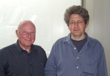 Yves Ternon et Georges Bensoussan (de gauche à droite)